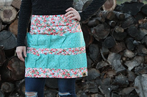 Egg Apron 14 Pocket Floral and Chicken QUALITY (Egg Apron 14 Pocket Floral QUALITY (Floral and Chicken) …)