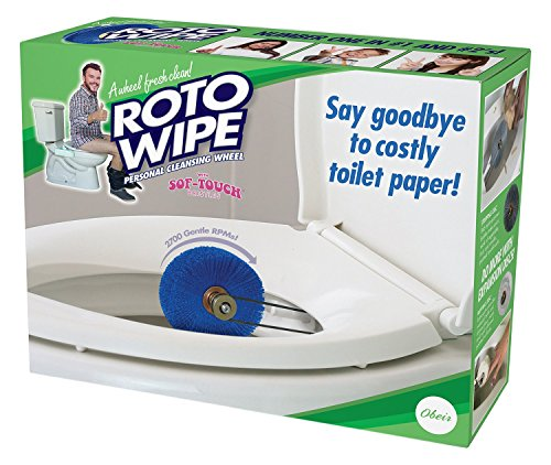 The Roto Wipe - Say Goodbye To Toilet Paper