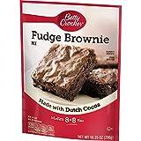 Betty Crocker Brownie Mix, Fudge, 10.25 oz Pouch