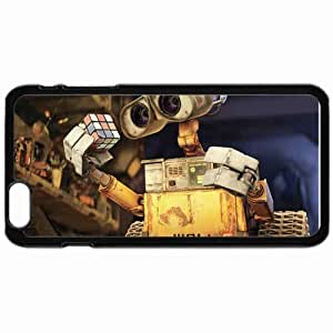 """Personalized iphone6 4.7"""" iPhone 6 Cell phone Case/Cover Skin Wall e rubiks cube movies pixar's movies Black"""