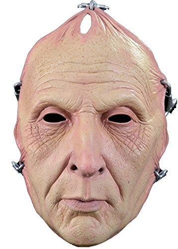 Trick or Treat Studios Women's Saw Jigsaw Pulled Flesh Halloween Mask One Size Flesh (Jig Saw Costume)