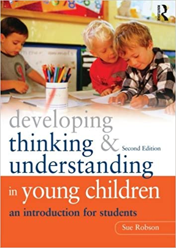 Image result for Developing thinking and understanding in young children: an introduction for students. 2 nd edition.
