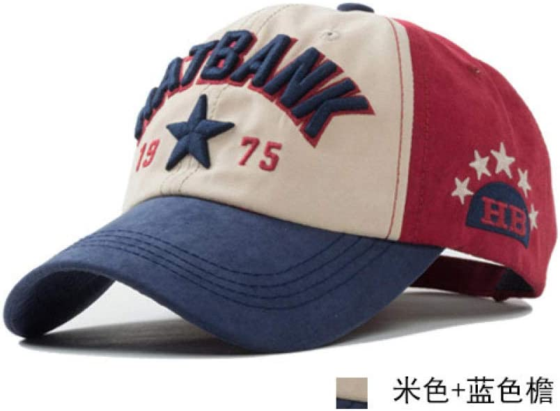 Baseball Cap Motors Racing Team Vintage Washed Denim Cotton Sports Unisex