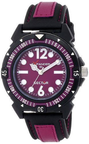 Sector Women's R3251197001 Action Analog Display Quartz Multi-Color Watch