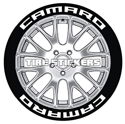 Amazon Com Camaro Tire Stickers