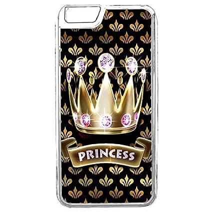 Amazon.com: Carcasa para iPhone 6S, diseño de Corona Reina ...