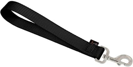 LupinePet Basics 1 Black Leashes for Medium and Larger Dogs