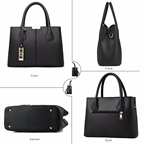 COCIFER Women Top Handle Satchel Handbags Shoulder Bag Tote Purse Messenger Bags by COCIFER (Image #3)