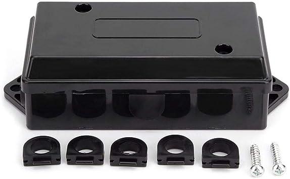 Caja de conexiones de cableado Caja de conexiones de cable de alambre impermeable para remolque US 7 Way Trailer: Amazon.es: Coche y moto