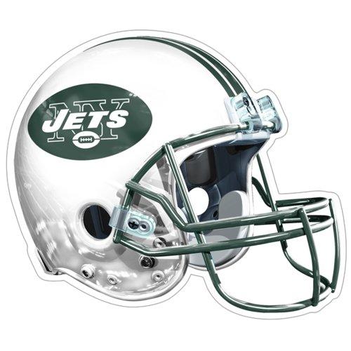 Brax NFL New York Jets Logo Helmet Magnet (Pack of 1)