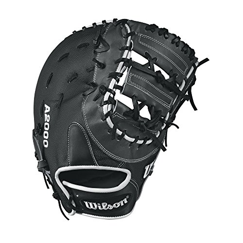 Wilson A2000 1617 SuperSkin Baseball Glove, Coal/White/Black, 12.5