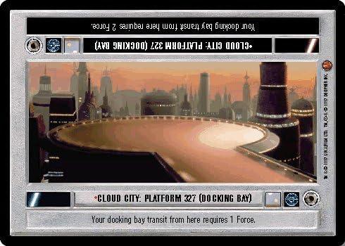 East Platform Star Wars CCG Cloud City Card Cloud City