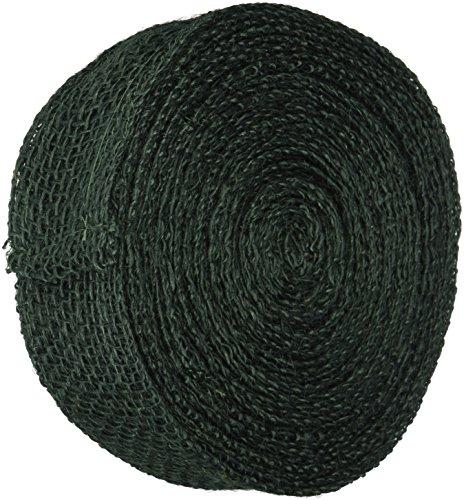 - Kel-Toy Jute Burlap Ribbon Roll, 2-Inch by 10-Yard, Hunter Green