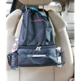 Car Litter Bag. Car Trash Bag. Car Seat Organizer. Includes Tissue Holder And Side Pockets. Hang It In Your Car Or In Any Room For Easy And Fast Access To Tissue Papers. Great On The Stroller, Behind Booster Chair, On The Coat Rack In The Foyer, In The Mud Room, Baby Room, Etc. By CoolKarStuff