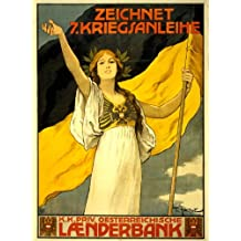 1917 POSTER Austro-Hungarian Empire, holding a flag