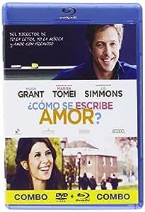 ¿Cómo Se Escribe Amor? (DVD + BD) [Blu-ray]