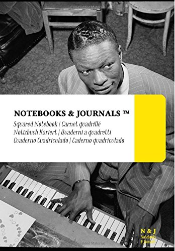 Notebooks & Journals: Cuaderno Cuadriculado - Cole (Coleccion Jazz Notes) (17.78 x 25.4 cm) (Spanish Edition) [Notebooks and Journals] (Tapa Blanda)