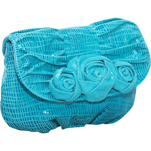 Inge Christopher Christy Convertible Clutch,Turquoise,one size, Bags Central