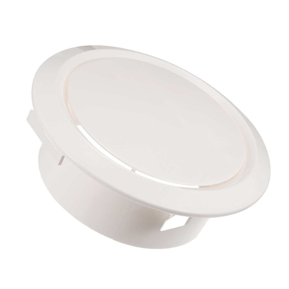 uxcell 8 Inch Air Vent Circular ABS White Cover Adjustable Exhaust Vent Fit for Bathroom Office Kitchen Ventilation
