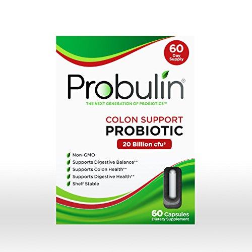 Colon Support Probiotic 20 Billion CFU - 60 Capsules by Probulin