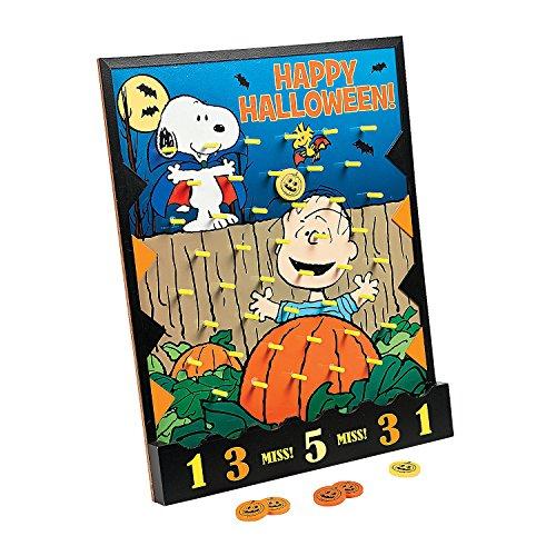 Peanuts Halloween Disc Drop Game