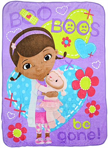 Doc McStuffins Boo Boo Buddies Throw Blanket