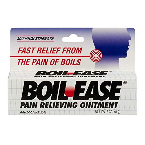 Boil-Ease Pain Relieving Ointment-1, oz (Quantity of 4) (Best Ointment For Boils)