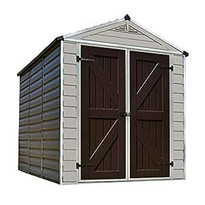Amazon Com Palram Skylight Storage Shed 6 X 8