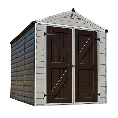 - Palram Skylight Storage Shed, 6' x 8'