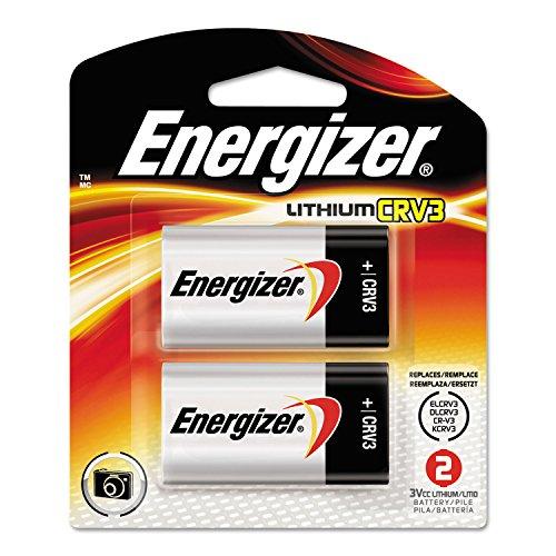 EVEREADY BATTERY ELCRV3BP2 e2 Lithium Photo Battery, CRV3, 3V, 2/Pack ()