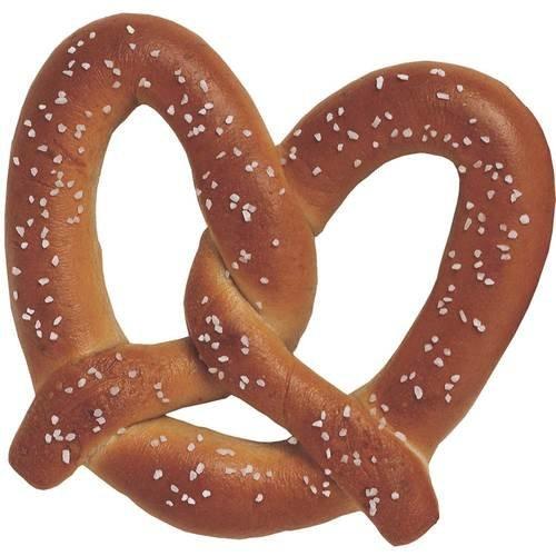 Superpretzel Super Jumbo Soft Pretzel, 10 Ounce -- 25 pretzels per case. by J and J Snack