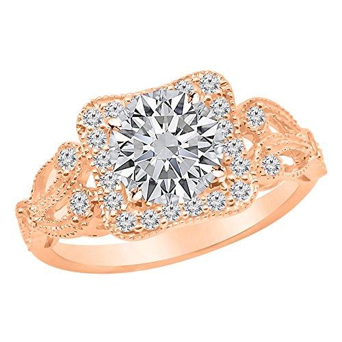 0.95 Ct Tw Round Diamonds - 5