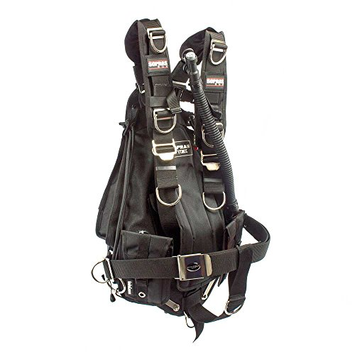 Sopras Tek Nomad Adjustable Sidemount Bcd Kevlar Technical Diving Side  Mount Easily Adjustable Scuba Diving Tek Dive Tec Tech