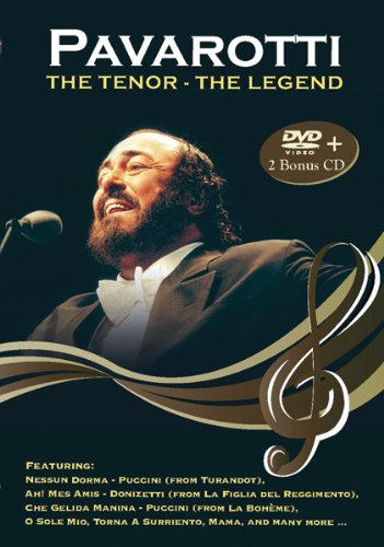 Pavarotti: The Tenor the Legend [DVD] [Import] B002DYKW8G