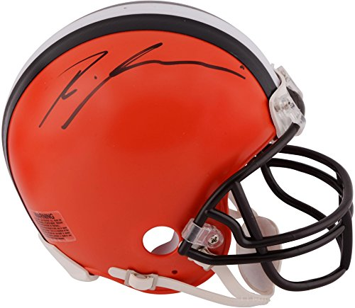 Ricardo Louis Cleveland Browns Autographed Riddell Mini Helmet - Fanatics Authentic Certified - Autographed NFL Mini ()