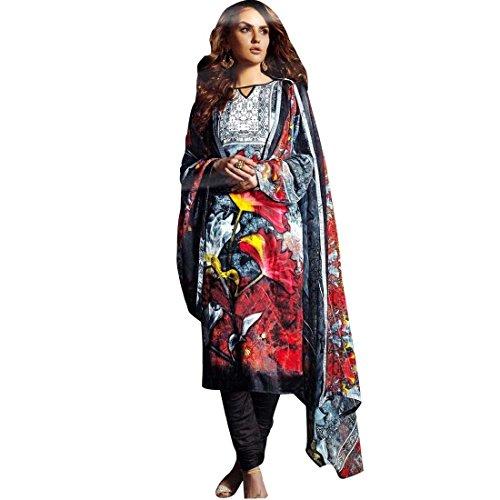 Ready-To-Wear-Gorgeous-Printed-Cotton-Salwar-Kameez-Suit-Indian-Dress