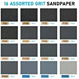 LotFancy 80 to 5000 Grit Sandpaper Assortment with