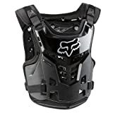 Fox Racing Youth Proframe LC Protector Black (Youth 6-11 06120-001-OS)