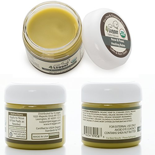 4-Legger-Certified-Organic-Nose-and-Paw-Pad-Healing-Balm-for-Dry-Chapped-Cracked-Skin-with-Hemp-Oil-and-Shea-Butter-Made-in-USA-1-each-19-oz