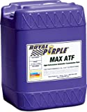 Royal Purple 05320 Max ATF High Performance Multi-Spec Synthetic Automatic Transmission Fluid - 5 gal.