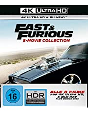 20% reduziert: Fast & Furious - 8-Movie Collection - 4K UHD