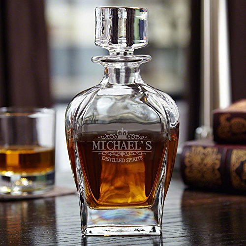 Kensington Personalized Draper Whiskey Decanter (Customizable Product)