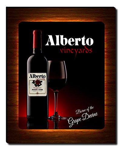 Alberto's Vineyards Wine Gallery Wrapped Canvas Print