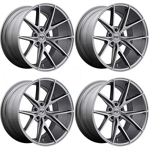 Niche Road Wheels >> Niche Road Wheels M116199543 50 M116 Series 19x9 5 Misano Style 5x112 66 6mm Hub Bore 50mm Offset