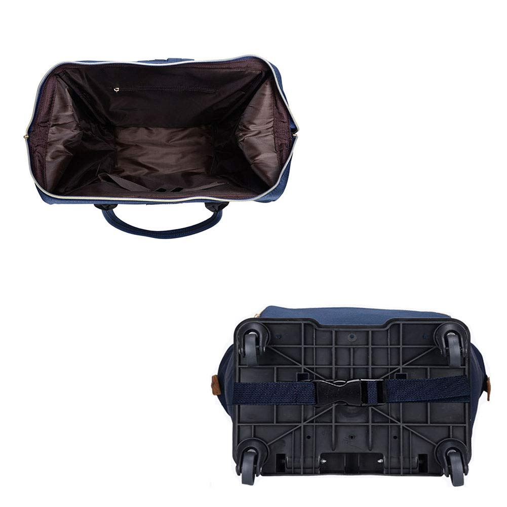6b164d19f67d Amazon.com: MZTYX Us Detachable Canvas Travel Bag, Casual Luggage ...