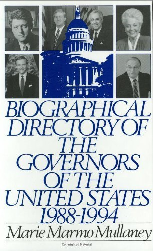 Biographical Directory of the Governors of the United States 1988-1994: 1988-94 Pdf