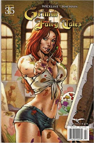 Zenescope Ent Grimm Fairy Tales The Library #5 Cover B NM Vault 35 Comic