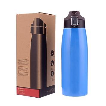 Amazon.com: HONGQIS - Botella térmica aislante de acero ...