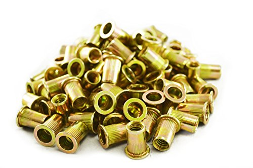 Astro Pneumatic Tool RN516 5/16''-18 Steel Rivet Nuts (100 Piece) by Astro Pneumatic Tool
