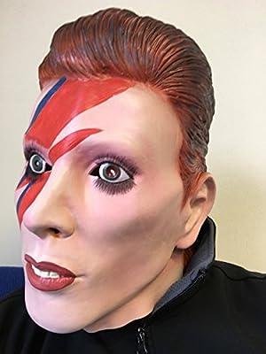 Rubber Johnnies David Bowie Máscara Completa Látex Ziggy Disfraz ...